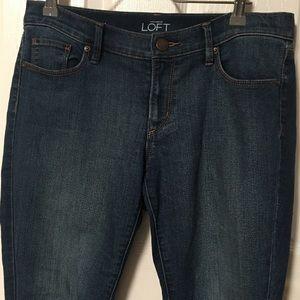 Loft cropped skinny jean